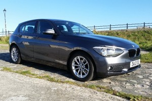 BMW 118D SE MANUAL IN MINERAL GREY